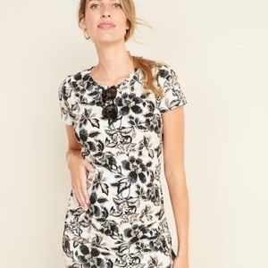 Old Navi Maternity Floral Jersey Bodycon D…